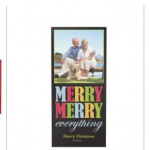 Vistaprint:  30 flat or 20 folded holiday photo cards for $10 shipped!
