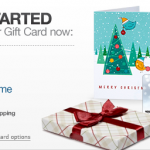 Amazon Gift Cards:  Perfect for last minute gift giving!