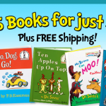 Dr. Seuss calendar plus 5 books for just $5.95 shipped!