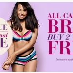 Lane Bryant:  Buy 2 bras, get 2 free and 5 for $25 panties!
