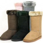 Alpine Swiss Women's 12″ Mid-Calf Faux Shearling Comfort Boots for $19.99!