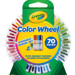 Crayola Color Wheel 70 piece Washable Marker Set for $8.88!