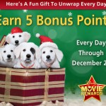 ABC Family's 25 Days of Christmas PLUS Disney Movie Rewards points!