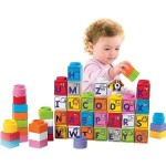 Fisher Price Little People Stack 'N Learn Alphabet Blocks for $6.38!