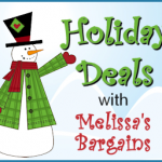 Melissa's Bargains Holiday Deals Round-Up!