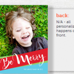 Holiday Photo Cards as low as $.30 each shipped!