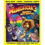 Madagascar 3:  Europe's Most Wanted DVD and Blu Ray as low as $9.99!