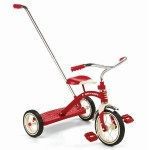 Radio Flyer Classic Red Tricycle with Push Handle for $39.20 shipped! (56% off)