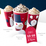 Starbucks BOGO Free Sale (through 12/16)