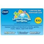 $20 VTech App Download Card for $9.99! (50% off)