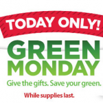 Walmart's Green Monday Sale:  iPod, iPad, Fijits, Razor scooters and more!
