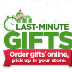 Walmart Last Minute Gift Ideas:  Order Online, Pick up In Store!