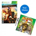 Walmart:  2 Nintendo DS, Wii, XBox 360 or PS3 games for $15!