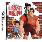 Wreck it Ralph Nintendo Wii, DS, and 3DS game only $19.96!