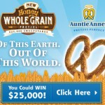 Enter for a chance to win an iPad Mini, gift cards, and more from Auntie Anne's