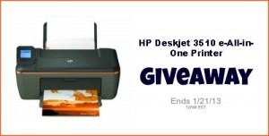 HP Printer Giveaway