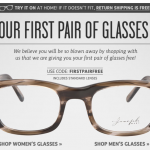 FREE Prescription Glasses From Coastal!