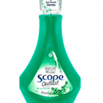 SCOPE mouthwash gives long-lasting fresh breath!