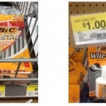 Bic Pens only $.47 per package at Walmart!