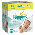 Pampers Sensitive Wipes (7 tubs) only $8.78 shipped!
