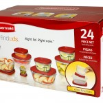 Rubbermaid 24 Piece Food Storage Set with Easy Find Lids only $10!