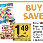 Betty Crocker Fruit Snacks just $.49 per box plus cereal deals!