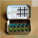 Magnetic Tic-Tac-Toe Craft!