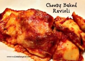 Cheesy-Baked-Ravioli