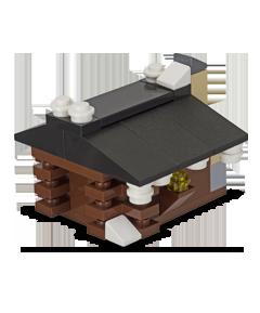 LEGO-Log-cabin
