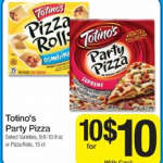 Kroger:  5 FREE Totino's Pizzas after coupon and rebate!