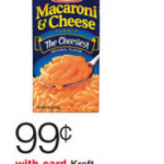 Kraft Macaroni & Cheese just $.66 each after coupon!