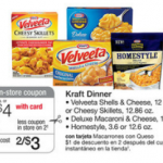 Velveeta Shells & Cheese just $1 each at Walgreens!