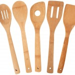 Bamboo 5 Piece Utensil Set only $5.88!