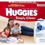 Huggies Simply Clean Wipes Stock Up Deal!