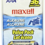 Maxell AAA Batteries 36 count only $8.45 shipped!
