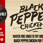 Pei Wei  BOGO free Black Pepper Chicken coupon!