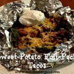 Sweet Potato Foil Pack Tacos!