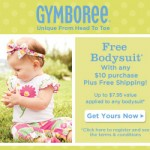Gymboree FREE Bodysuit plus 30% off EVERYTHING!