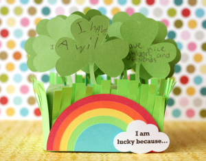 I am lucky because