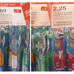 Target Deals:  Free Oral B Toothbrushes and more Under $1 Deals!