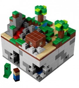 Lego Minecraft back in stock