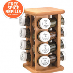 Kamenstein 16 Jar Revolving Spice Rack only $21!
