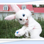 I Caught the Easter Bunny photos for less than $10!