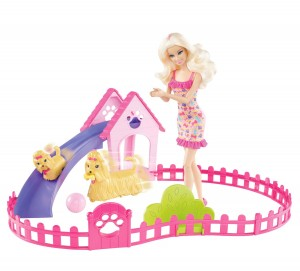 barbie-doll-puppy-play-park