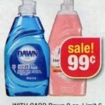 FREE Gillette Venus razor and cheap Dawn dish soap!
