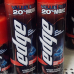 Edge Shave Gel as low as $.49 after coupon!
