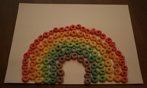fruit-loops-rainbow-craft