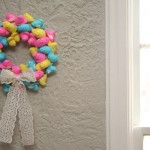 Easter Craft: Peep Wreath!