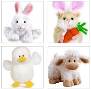 webkinz-easter-animals