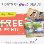 Walgreens:  25 FREE 4X6 photo prints!